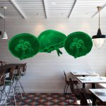 jellyfish decor restaurant