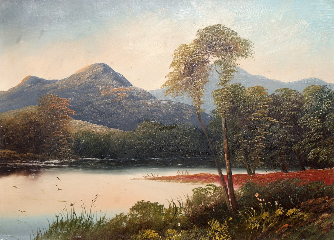 Light of the 19th Century Landscape Painting