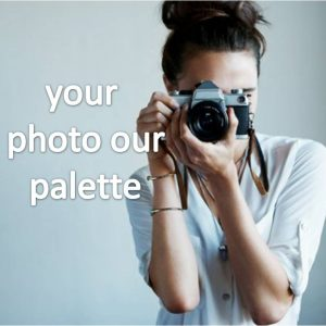 your photo our palette