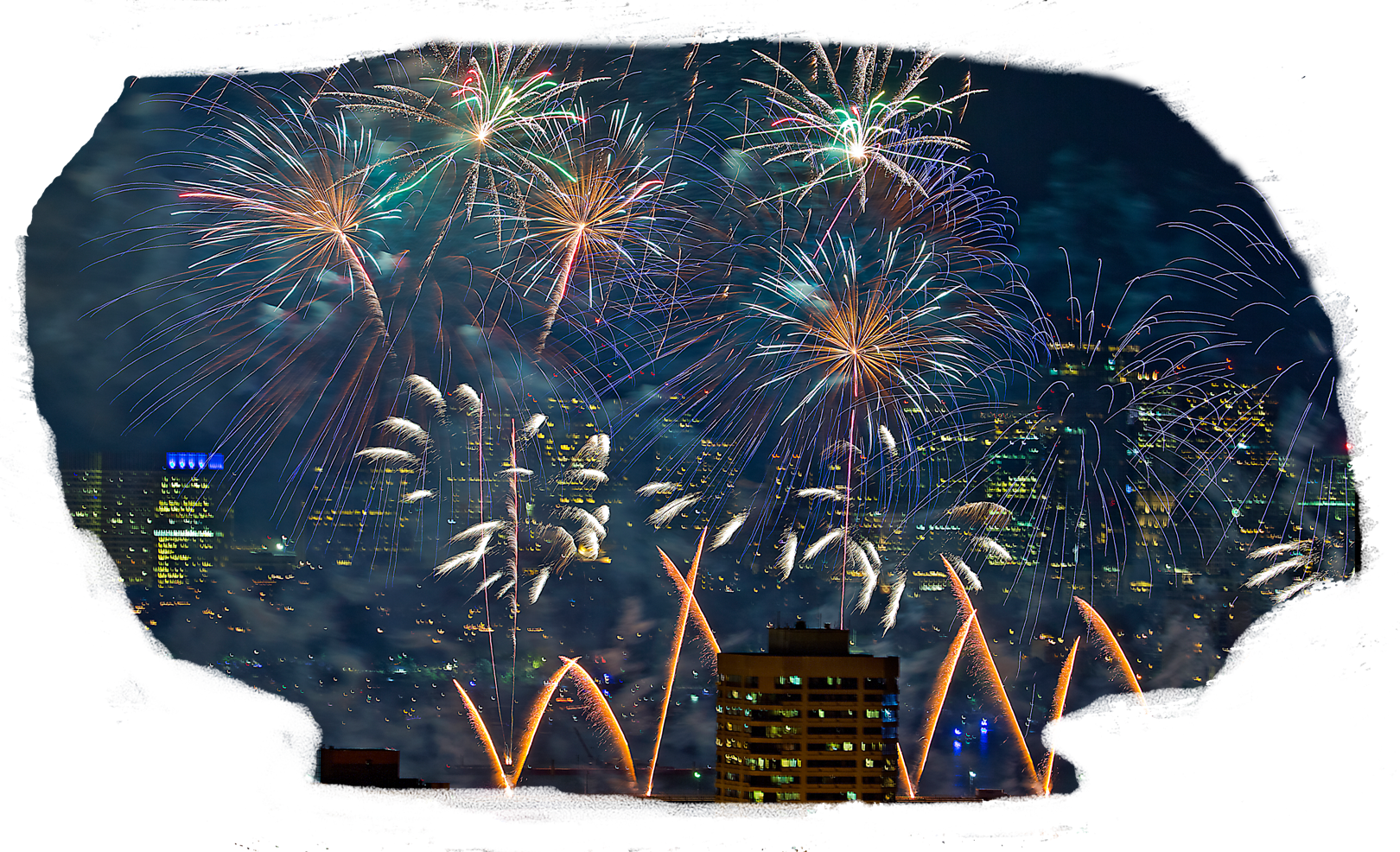 Los Angeles City Fireworks