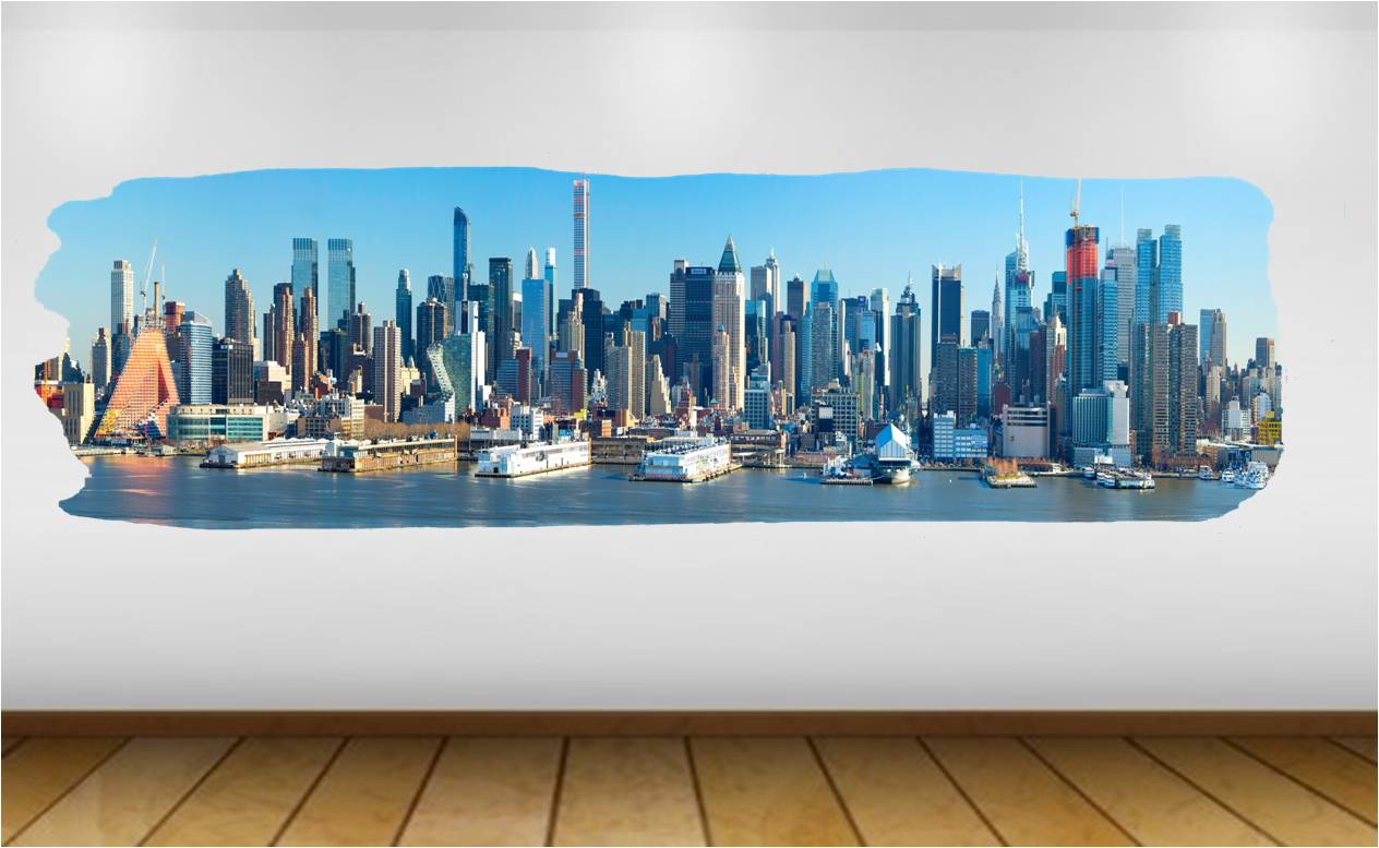 New York city wide view 48""