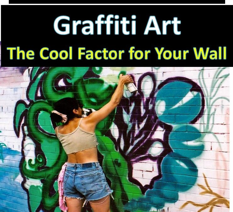 Graffiti as Interior Design for an Edgy Vibe