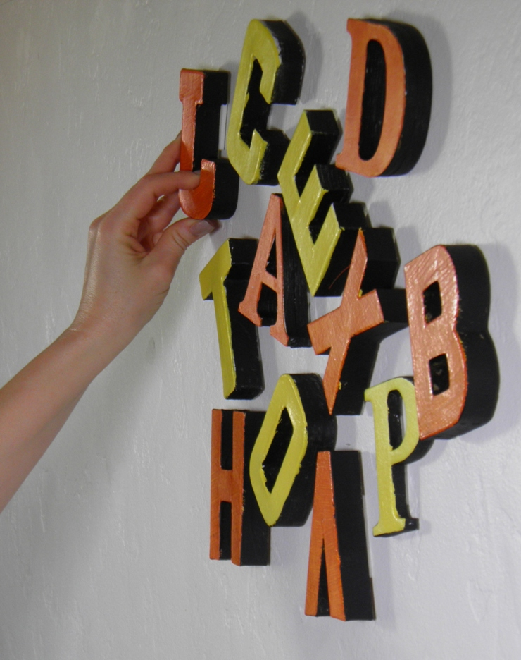 Easily and Safely Attach Paper Mache and other Objects to Wall