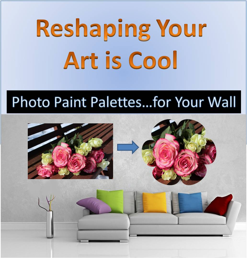 Reshaping Art with Photo Paint Palette