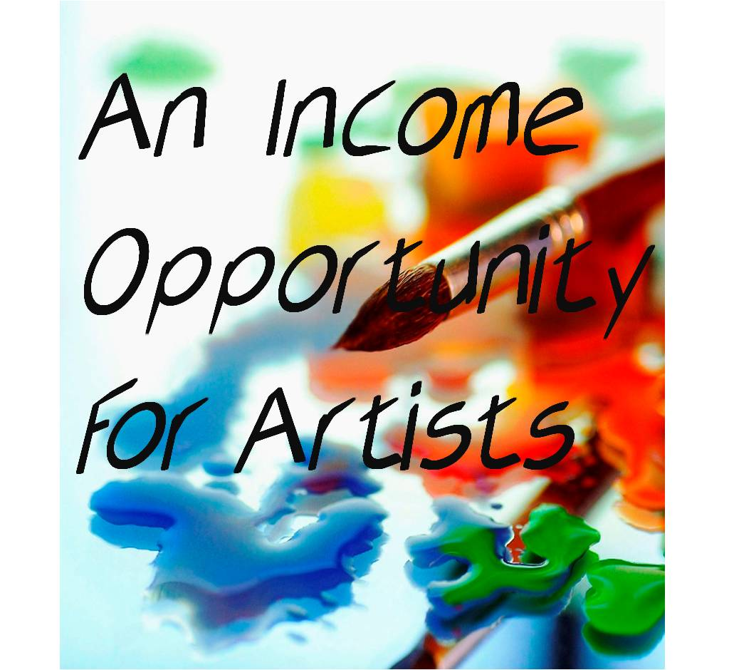 We are Interested in Talented Artists