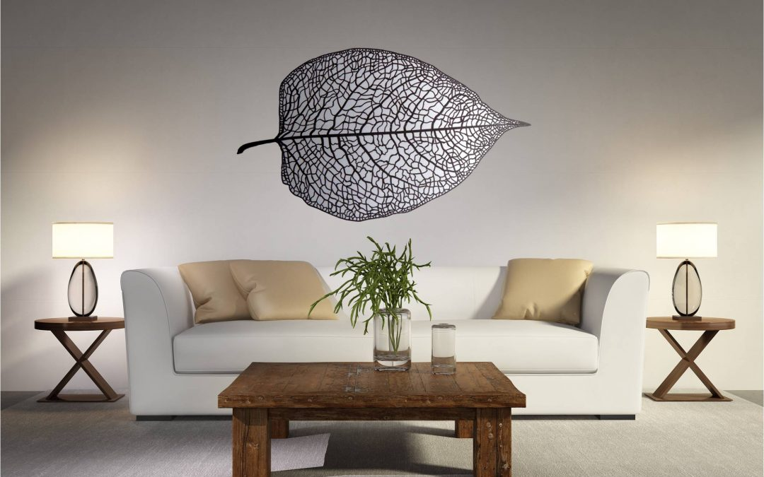wall art leaf