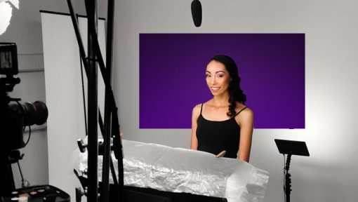 purple backdrops