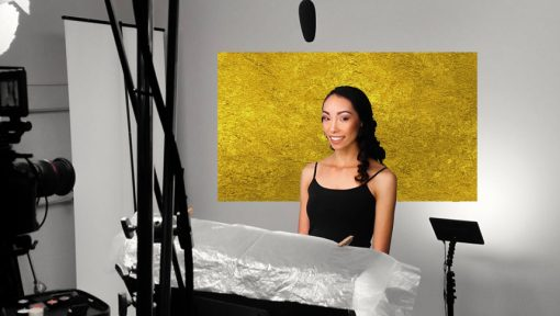 gold backdrop
