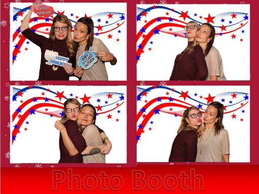 patriot stars photo booth backdrop