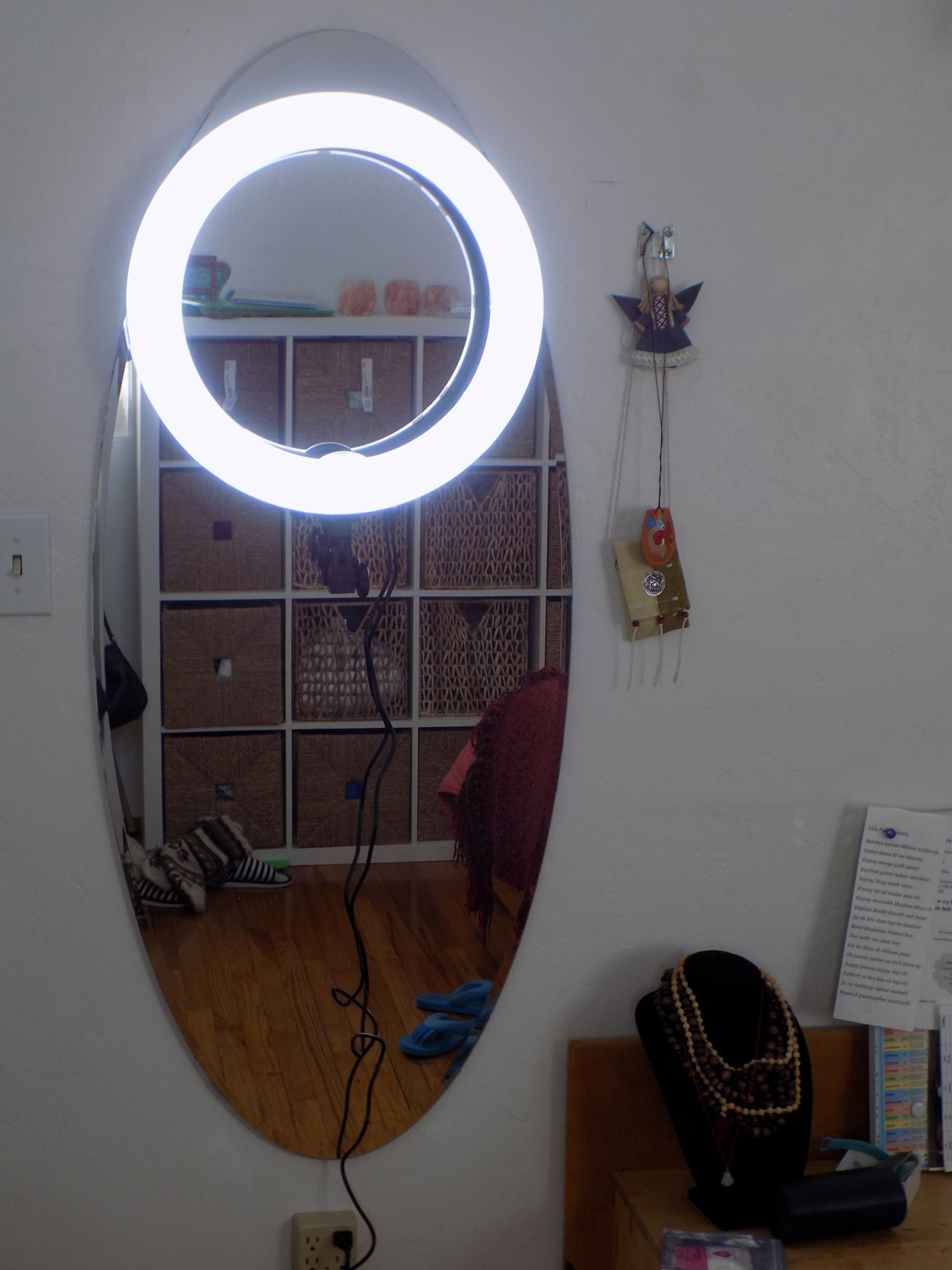 ring light full length mirror