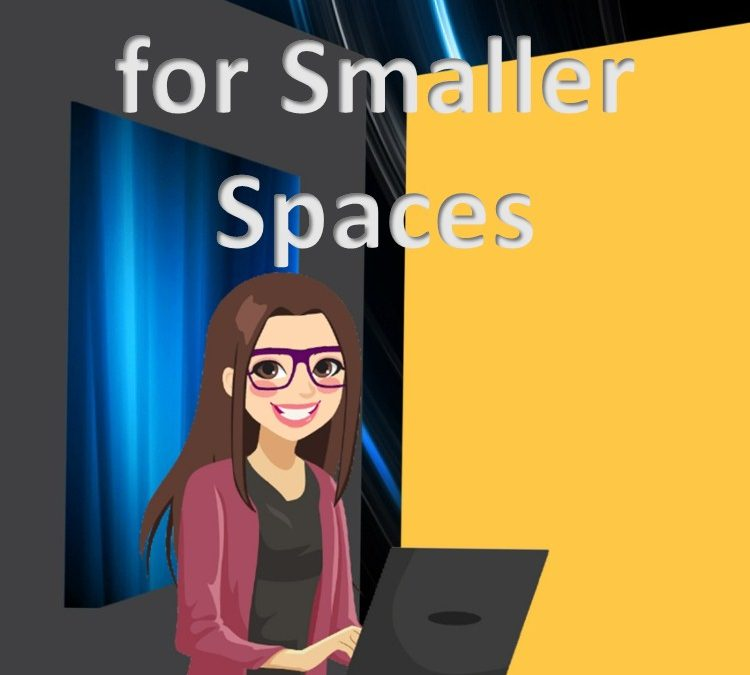 small spaces backdrops