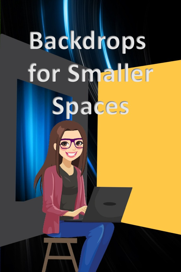 Backdrops for Small Spaces and Why You Should Use