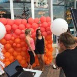 Balloon-Wall photo booth