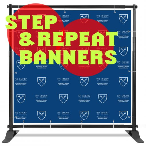 step repeat backdrops