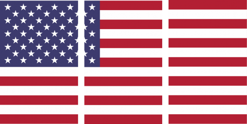 usa flag for wall